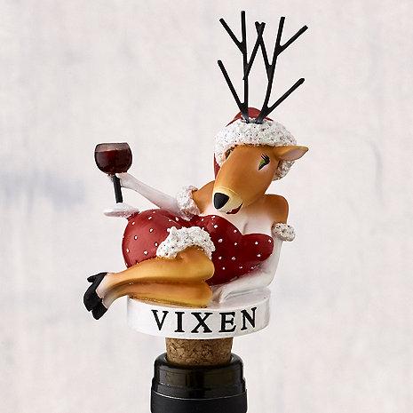 Vixen Bottle Stopper