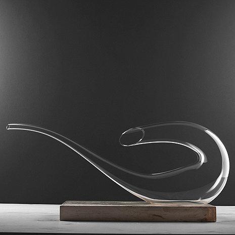 Wine Enthusiast Art Series Bass Decanter