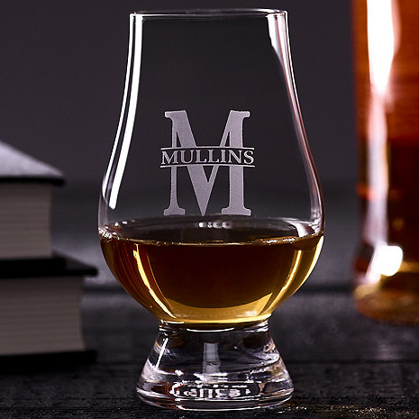 Personalized Glencairn Whisky Glasses (Set of 4)