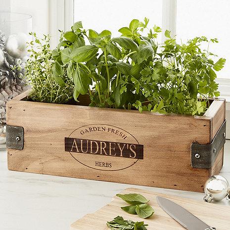 Personalized Herb Garden