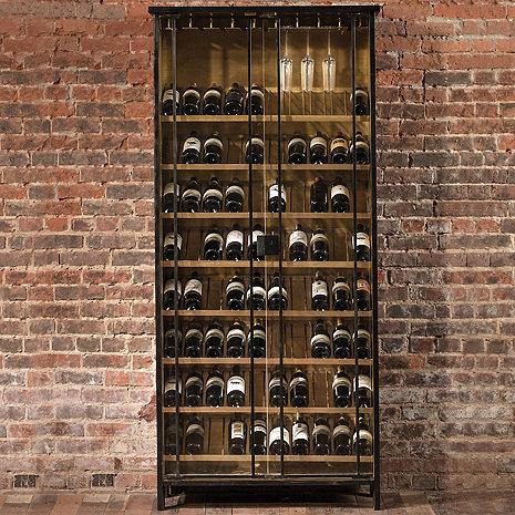 Orleans Brass Cladded Cabinet