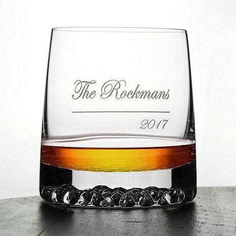 Personalized Diamond Whiskey Glasses (Set of 2)
