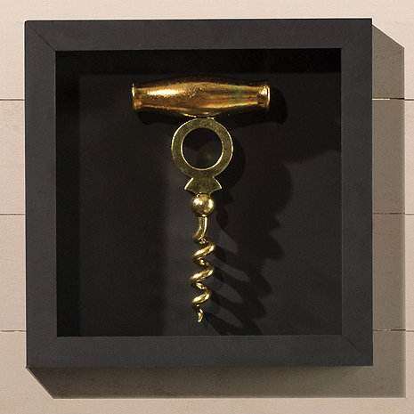 Corkscrew Wall Decor - Direct Pull Corkscrew