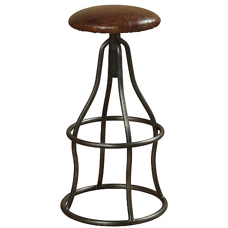Churchill Swivel Stool (Brown)