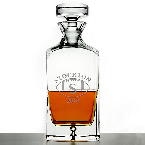 Personalized 'Big Game' Lexington Whiskey Decanter