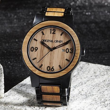 Whiskey Barrel Watch (Black)
