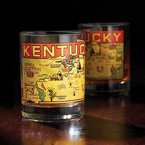 Kentucky Bourbon Trail Rocks Glass (Set of 2)