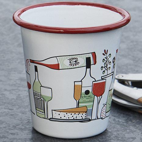 Marissa Ross Limited Edition Enameled Wine Tumblers (Set of 4)