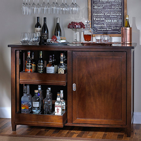 Firenze Mezzo Wine and Spirits Credenza (Outlet A)