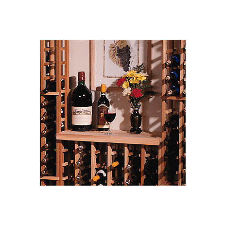 Redwood Modular Wine Rack Kit - Table Top
