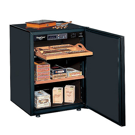 EuroCave Cigar Humidor (Black - Solid Door)