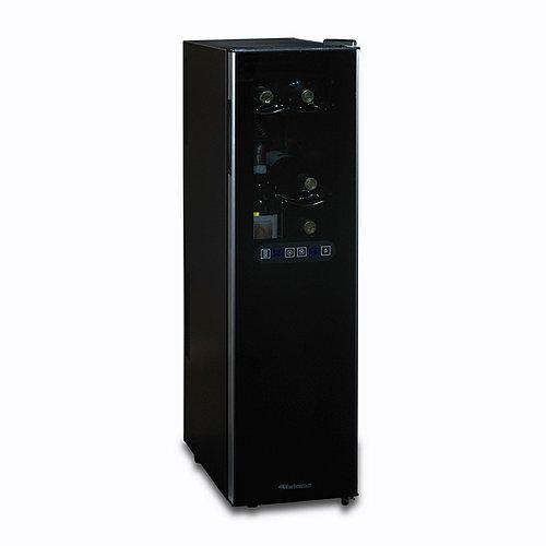 Wine Enthusiast Silent 18 Bottle Dual Zone Wine Refrigerator Slimline with  Upright Bottle Storage - Wine Enthusiast
