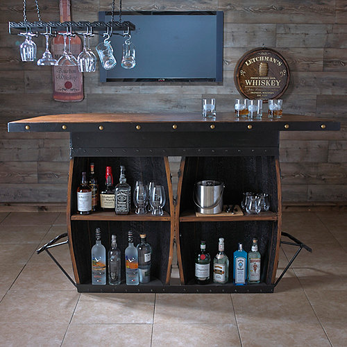 Tennessee Whiskey Barrel Bar Wine Enthusiast