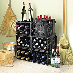 STORViNO Nero Wine Storage Container