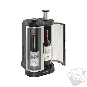 EuroCave SoWine Home Wine Bar (Silver Trim Door)