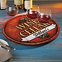 Personalized Vineyard Lazy Susan
