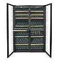 EuroCave Performance 500 Dual Zone Wine Cellar (Black - Glass Door)