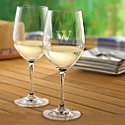 Personalized Indoor/Outdoor Chardonnay Wine Glasses (Set of 4)