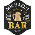 Personalized Home Bar Sign