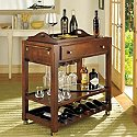 Cortona Bar Cart With Serving Tray