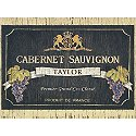 Personalized Wine Label Floor Mat