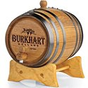 Personalized Mini Oak Wine Barrel