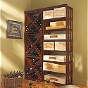N'FINITY DIY Diamond Cube & Rectangular Bin Wine Rack Set