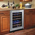American Designer Series 44-Bottle Dual Zone Wine Refrigerator