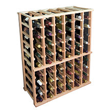 Designer Wine Rack Kit - 6 Column Half Height