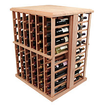Designer Wine Rack Kit - 108 Bottle Tasting Table