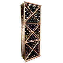 Designer Wine Rack Kit - Open Diamond Cube