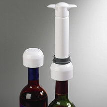 Wine Enthusiast Vino Vac Wine Saver Extra Stoppers (Set of 2)