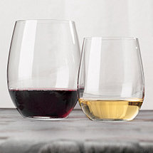 Riedel 'O' Stemless Wine Glass Cabernet & Chardonnay / Viognier Mixed Set (Set of 8)