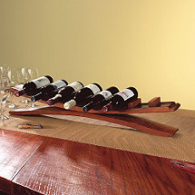 Arched Oak Stave Wine Rack