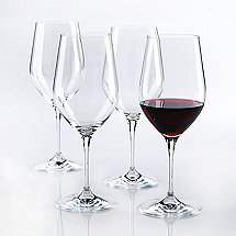 Fusion Classic Cabernet/Merlot/Bordeaux Wine Glasses (Set of 4)
