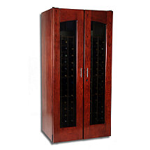 Le Cache Contemporary 2400 Wine Cellar - Double Door