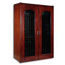 Le Cache Contemporary 3800 Wine Cellar - Double Door