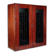 Le Cache Contemporary 5200 Wine Cellar - Double Door