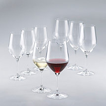 Fusion Classic Red & White Wine Glass Collection (Set of 8)