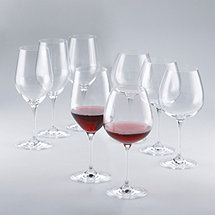 Fusion Classic Red Wine Glass Collection (Set of 8)