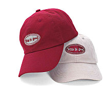 'Wine is Good' Baseball Cap (Stone)