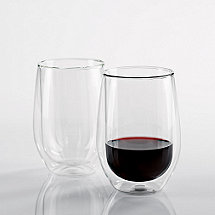 Steady-Temp Double Wall Cabernet Stemless Wine Glasses (Set of 2)