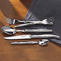 Jean Dubost Laguiole 5-Piece Flatware Set (Stainless Steel)