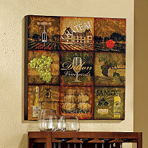 Personalized Giclee Vineyard Print
