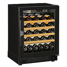 EuroCave Performance 59 Built-In Wine Cellar (Multi-Temp) (Black - Glass Door)