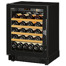 EuroCave Performance 59 Built-In Wine Cellar (Multi-Temp) (Black - Left Hinged Glass Door)