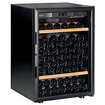 EuroCave Performance 83 Wine Cellar  (Black - Glass Door)