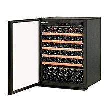 EuroCave Performance 83 Wine Cellar  (Black - Left Hinged Glass Door)