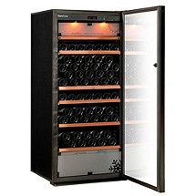 EuroCave Performance 183 Triple Zone Wine Cellar (Black - Glass Door)