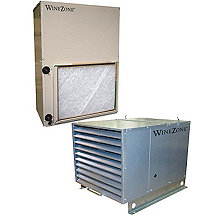 WineZone Air Handler 8300 Series Vertical Evaporator
